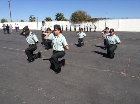 Old School Drill Competition